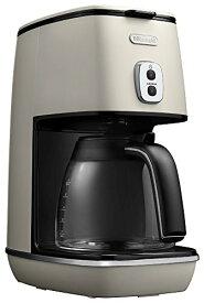 デロンギ ドリップコーヒーメーカー ディスティンタコレクション 6杯 チタンコートフィルター ピュアホワイト ICMI011J-W
