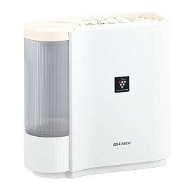 シャープ プラズマクラスター搭載 気化式 加湿機 ホワイト系 HV-H30-W SHARP 据え置き 適用畳数(木造和室):5畳 適用畳数(プレハブ洋室):8畳 タンク容量:2.4L 省エネ 空気浄化 消臭 除電 除菌節電 湿度 寝室 オフィス 子供部屋 新生活 一人暮らし プレゼント ギフト