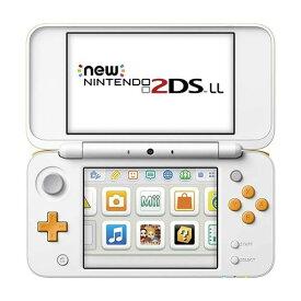 【キャッシュレス5%還元対象】Nintendo ゲーム機本体 NEW ニンテンドー 2DS LL ホワイト/オレンジ