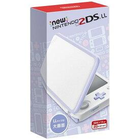 Nintendo ゲーム機本体 NEW ニンテンドー 2DS LL ホワイト/ラベンダ