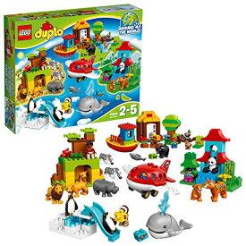"""レゴ (LEGO) デュプロ 世界のどうぶつ""""世界一周セット%ダブルクォーテ% 10805"""