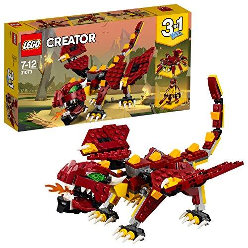 【ママ割】ポイント5倍対象ショップ限定 4/22 20:00スタート(エントリー必要)レゴ(LEGO) クリエイター 伝説の生き物 31073