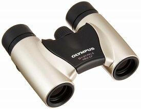 【キャッシュレス5%還元対象】OLYMPUS ダハプリズム双眼鏡 8x21 RCII シャンパンゴールド 小型軽量モデル