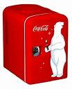 【72時間限定エントリーでポイント3倍】コカコーラデザインミニ冷蔵庫 KWC-4 Coca-Cola Personal 6-Can【並行輸入品】