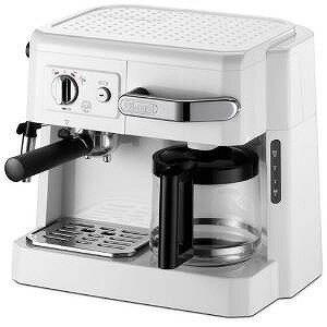 DeLonghi コンビコーヒーメーカー ホワイト BCO410J-W【送料無料】