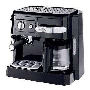 DeLonghi コンビコーヒーメーカー ブラック BCO410J-B【送料無料】