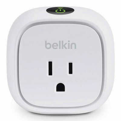 Belkin WeMo 電力使用量モニタ付 インサイト スイッチ for Apple iPhone, iPad, and iPod touch
