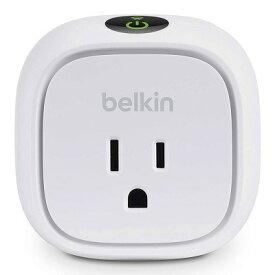 【キャッシュレス5%還元対象】Belkin WeMo 電力使用量モニタ付 インサイト スイッチ for Apple iPhone, iPad, and iPod touch