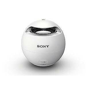 ソニー Bluetooth対応ワイヤレススピーカーシステム(ホワイト)お風呂でも使える防水タイプSONY SRS-X1-W