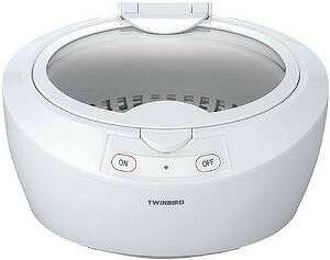 TWINBIRD 超音波洗浄器 ホワイト EC-4518W
