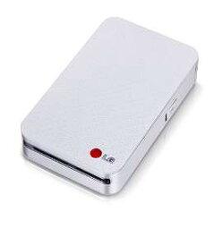 【キャッシュレス5%還元対象】LG Electronics Japan社製 ポータブルモバイルプリンター Pocket Photo ホワイト&シルバー PD233