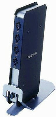 ELECOM KVM-C24 コンパクトパソコン自動切替器