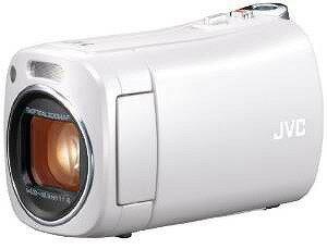 JVCKENWOOD JVC コンパクト ビデオカメラ BabyMovie 内蔵メモリー8GB ホワイト 小型 GZ-N1-W【送料無料】