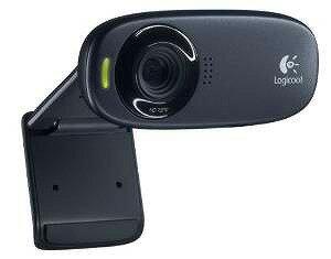 LOGICOOL ウェブカム HD画質 120万画素 ヘッドセット付 C310h