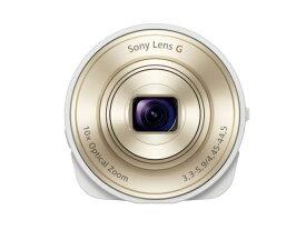【キャッシュレス5%還元対象】SONY デジタルカメラ Cyber-shot レンズスタイルカメラ QX10 ホワイト DSC-QX10-W