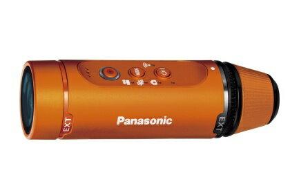 Panasonic ウェアラブルカメラ オレンジ HX-A1H-D【送料無料】