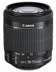 キャノン ズームレンズ Canon 標準ズームレンズ EF-S18-55mm F3.5-5.6 IS STM APS-C対応