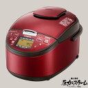 【最大1,000円オフクーポン】【送料無料】炊飯ジャー HITACHI 圧力スチームIH炊飯器 5.5合 レッド RZ-SG10J-R