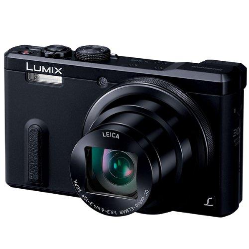 Panasonic デジタルカメラ ルミックス TZ60 光学30倍 ブラック DMC-TZ60-K【送料無料】