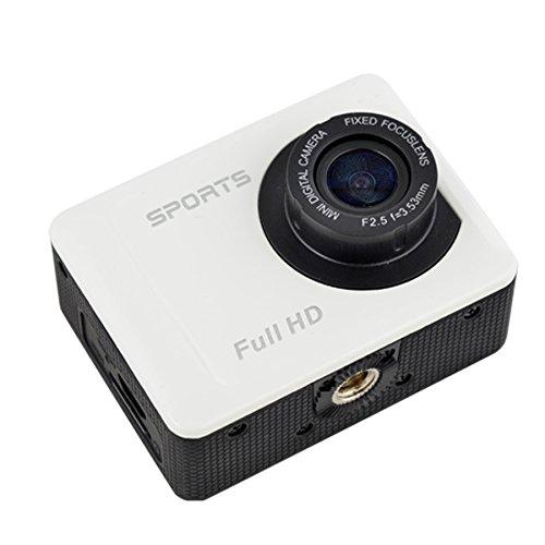 山善(YAMAZEN) キュリオム フルハイビジョン アクションムービーカメラ ホワイト AMC-200HD