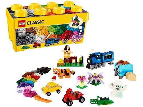 レゴ クラシック 黄色のアイデアボックス プラス 10696