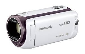 Panasonic HDビデオカメラ W570M ワイプ撮り 90倍ズーム ホワイト HC-W570M-W【送料無料】
