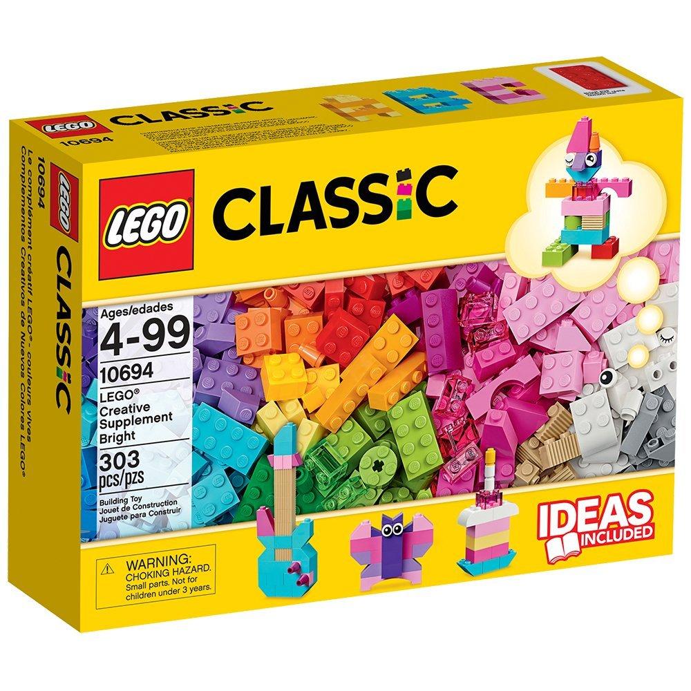 レゴ クラシック アイデアパーツ 明るい色セット 10694【送料無料】