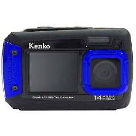 【キャッシュレス5%還元対象】Kenko 防水デュアルモニターデジタルカメラ DSC1480DW IPX8相当防水 1.5m耐落下衝撃 434758