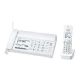 パナソニック デジタルコードレスFAX 子機1台付き 1.9GHz DECT準拠方式 ホワイト KX-PD304DL-W