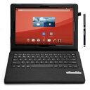 IVSO オリジナルSony Xperia Z4 Tablet docomo SO-05G au SOT31専用PUレザーケース マグネット着脱可能 一体型Bl...