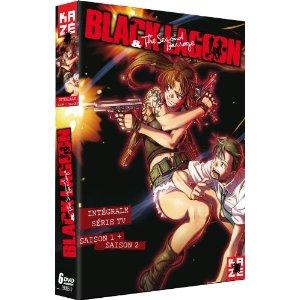 ブラックラグーン 1期+2期 コンプリート DVD-BOX (全24話, 576分) アニメ [DVD] 輸入盤【送料無料】