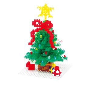 nanoblock 大きなクリスマスツリー 2013 NBH-058 【代引き・日時指定不可】