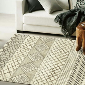 ▼ラグ マット 135×200cm MAISENSE3807 マイセンス▼ スミノエ World Carpet COLLECTION