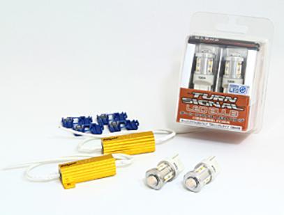 BELLOF(ベロフ)/輸入車用シリウス ターンシグナル LED バルブ(T20タイプ)抵抗付/DBA408