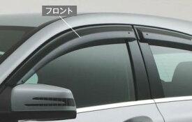 ☆Mercedes-Benz純正アクセサリーサイドバイザーフロント左右セットCクラス(W204)用M2047202010MM