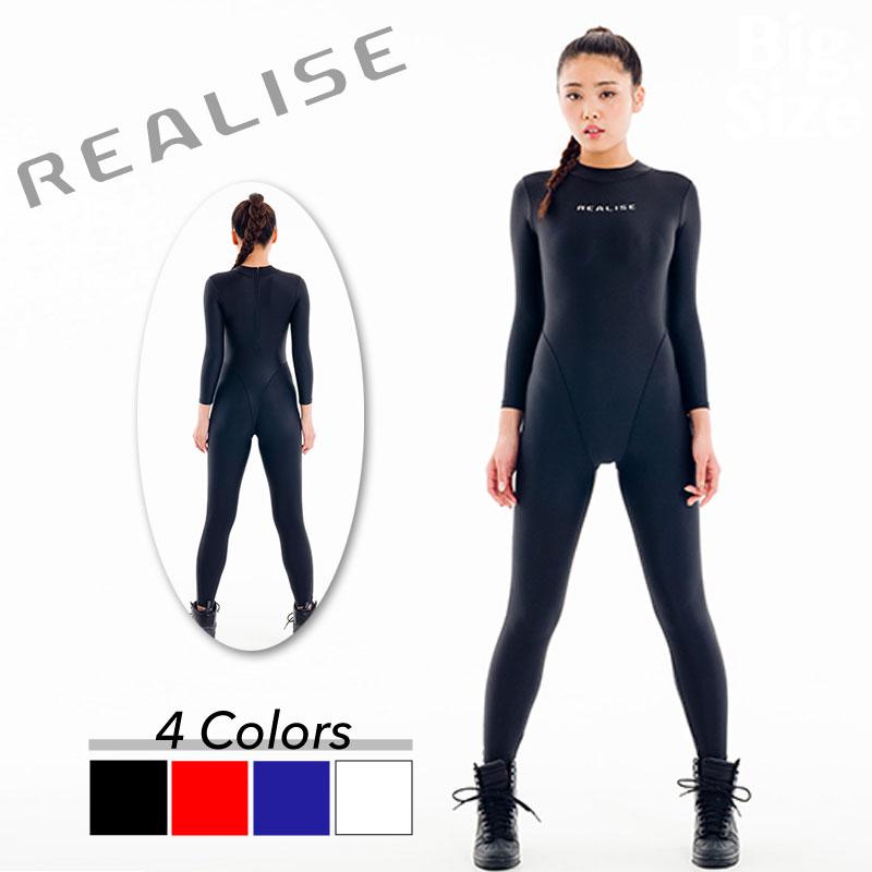REALISE(リアライズ)【FB-1】2WAYキャットスーツ(イージーストレッチ素材)送料無料【売れ筋】【オススメ】