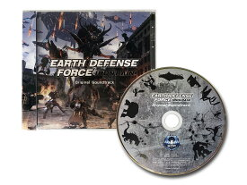 EARTH DEFENSE FORCE: IRON RAINオリジナルサウンドトラックCD