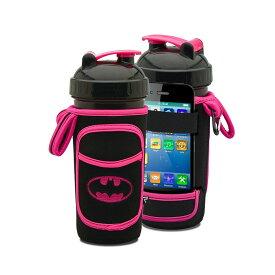 可愛いプロテインシェーカーカバー バットマン ピンク ワークアウトドリンクに! 筋トレ ウェイトトレーニング ボディビル フィジーク フィットネスビキニ パーソナルトレーニング 筋肉 ベンチプレス スクワット デッドリフト チンニング