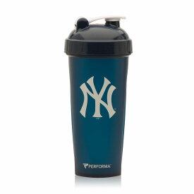 新発売 MLB プロテインシェーカー ニューヨーク ヤンキース NY メジャーリーグ 800ml ワークアウトドリンク 野球 筋トレ ウェイトトレーニング ボディビル フィジーク パーソナルトレーニング 筋肉 ベンチプレス スクワット チンニング