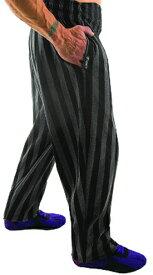 OTO MIX オートミックス バギーパンツ ストライプ柄 グレー レッド ボディビルダー、筋トレ、スクワット、ウエイトトレーニングに適したトレーニングパンツのウエアー