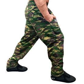バギーパンツ カモフラージュ柄 OTO MIX オートミックス ボディビル 筋トレ ウェイトトレーニング スクワット デッドリフト ベンチプレス ウエイトトレーニングに適したトレーニングパンツ