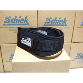 正規品 Schiek リフティングベルト Model4004 ブラック 筋トレの必需品! シーク ウエイトトレーニングに最適なトレーニングベルト ベンチプレス フィッジーク ボディビル 腹筋 背筋 腹圧を高めて腰痛予防に。