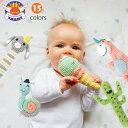 ガラガラ ラトル 赤ちゃん おもちゃ にぎにぎ がらがら ぬいぐるみ weegoamigo クロシェットラトル ベビー おしゃれ …