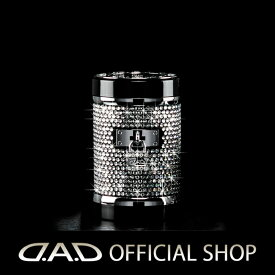 D.A.D LUXURY アッシュボトル タイプ EXEパドロック クリスタルGARSON ギャルソン DAD 4571259529940 灰皿 車用 ドリンクホルダー対応