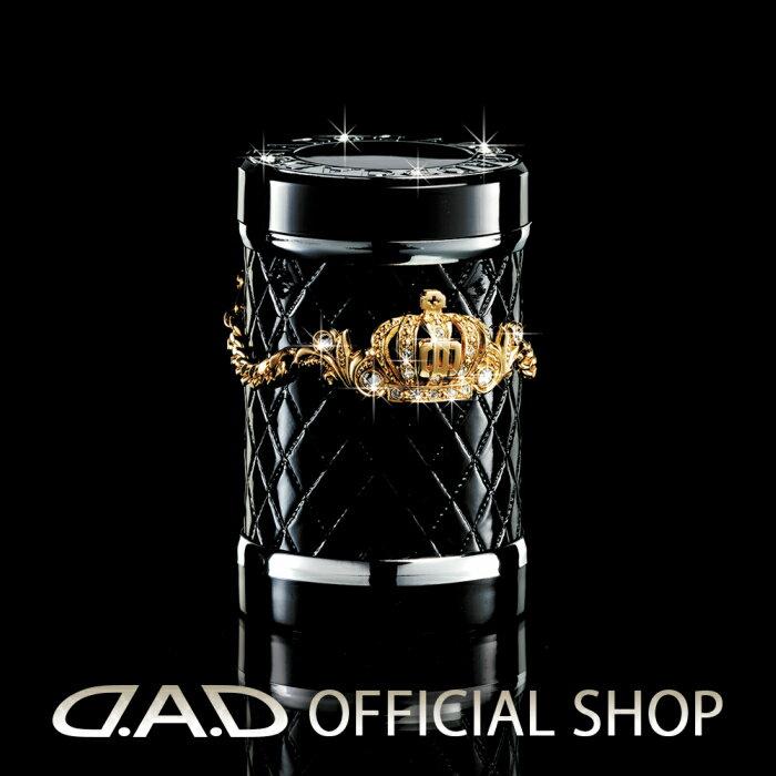 D.A.D (GARSON/ギャルソン) LUXURY アッシュボトル タイプ クラウン ゴールド/クリスタルDAD JAN4571259518999