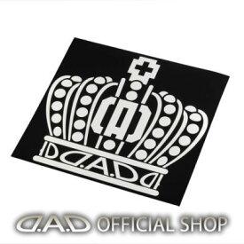 D.A.D クラウンステッカー 【サイズ:L】[ST120] GARSON ギャルソン DAD