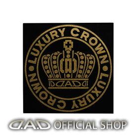 D.A.D クラウンサークルステッカー Mサイズ【ゴールドラメ】ST142-02 GARSON ギャルソン DAD