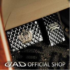 DAD ギャルソン D.A.D ラグジュアリー ペダル タイプ クラウン ゴールド HA146-02 / HA147-02 GARSON SWAROVSKI スワロフスキー