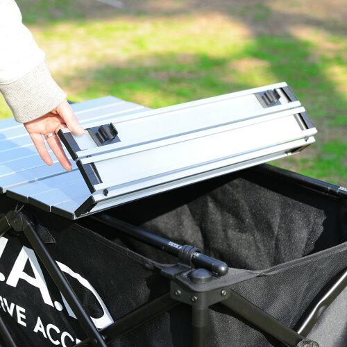 DADギャルソンD.A.DFOLDINGTABLEアウトドアキャリーワゴン用折り畳みテーブル(汎用)全2カラーGARSON(ギャルソン)カート