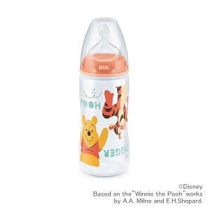 NUK ヌーク プレミアムチョイス ほ乳びん 300ml くまのプーさん オレンジ   哺乳瓶 ベビー 赤ちゃん ディズニー かわいい ほ乳瓶 お食事